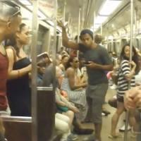 [VIDEO] Le casting du musical Le Roi Lion surprend le métro new-yorkais