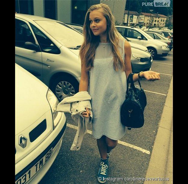 Caroline Receveur dévoile sa soeur Mathilde sur Instagram