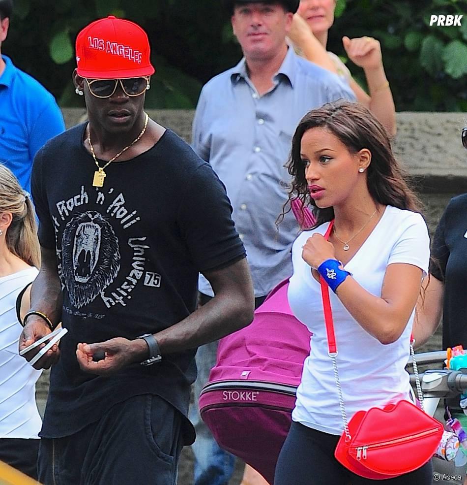 Mario Balotelli et Fanny Neguesha : dispute dans les rues de New York, le 19 juillet 2014