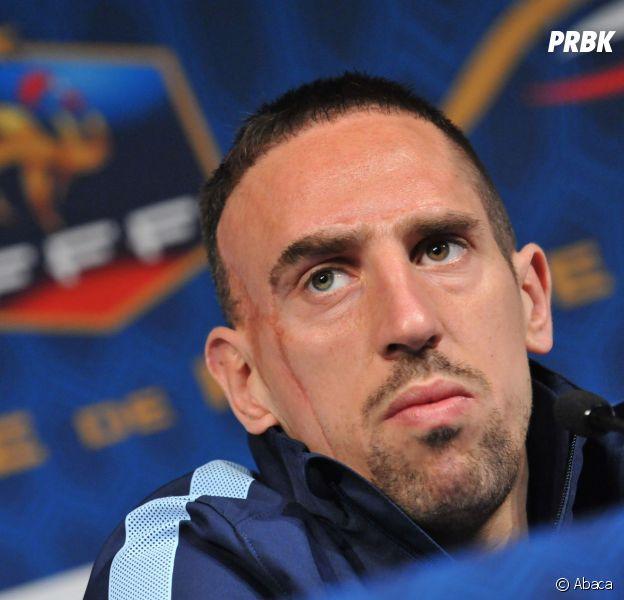 Franck Ribéry : retraite internationale avec l'équipe de France le 13 août 2014