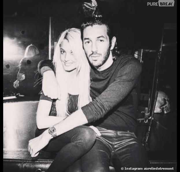 Aurélie Dotremont et Isaac de nouveau en couple