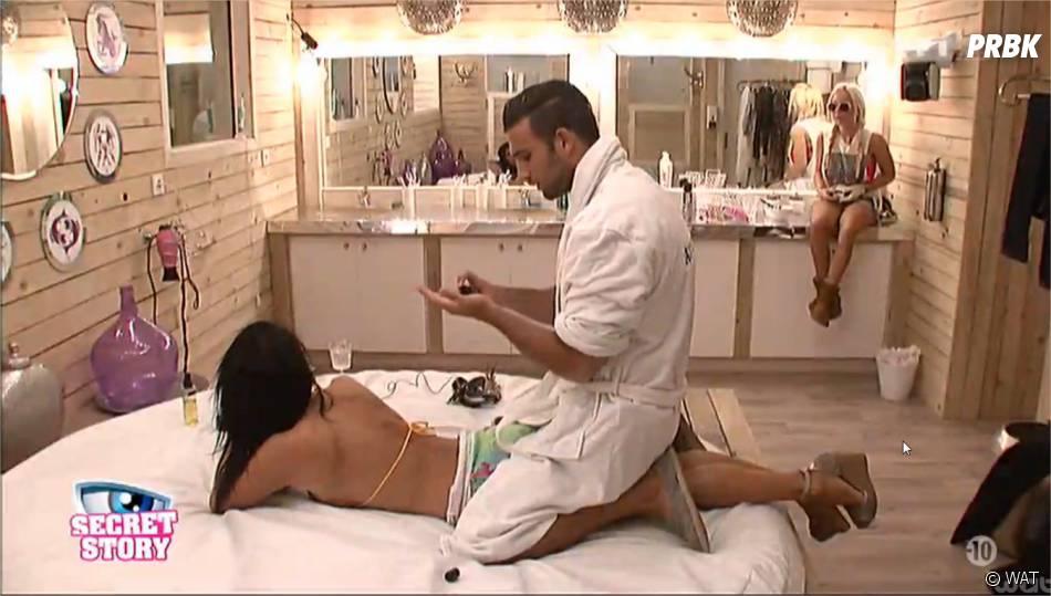 Secret Story 8 : Aymeric a offert un massage sensuel à Nathalie