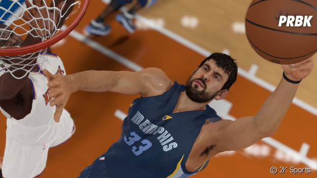 NBA 2K15 : des tirs sublimes