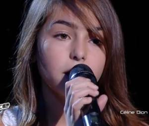 Carla chante Vole de Céline Dion en finale de The Voice Kids