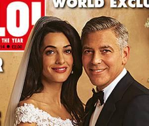 George Clooney et Amal Alamuddin : couple marié en Une de Hello