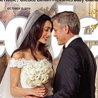 George Clooney et Amal Alamuddin : les photos officielles de leur mariage