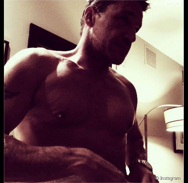 Benjamin Castaldi : photo sexy torse nu et musclé
