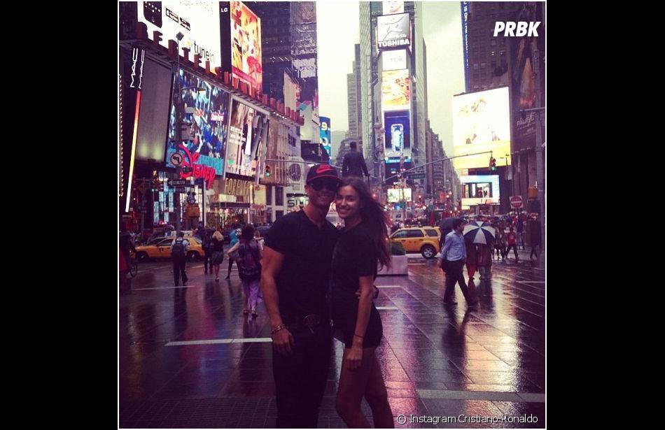 Cristiano Ronaldo et Irina Shayk : vacances en couple à New York, le 19 juin 2013