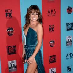 Lea Michele se prend un vent mémorable à l'AVP d'American Horror Story