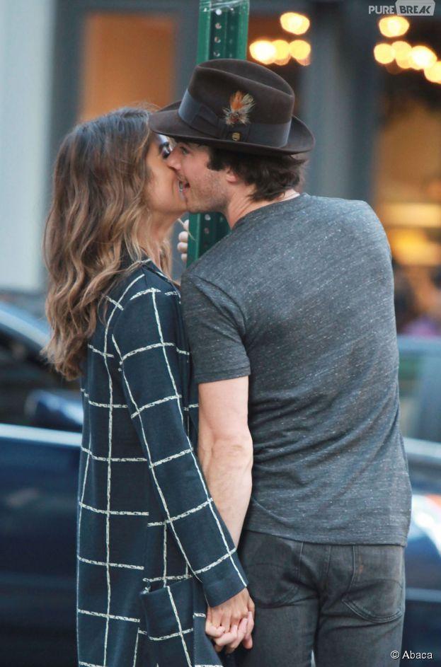 Ian Somerhalder et Nikki Reed : un couple très complice à New York, le 24 août 2014