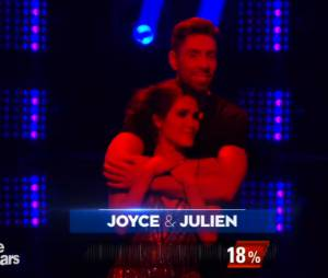 Joyce Jonathan, éliminée lors du prime de Danse avec les stars 5, le 18 octobre 2014