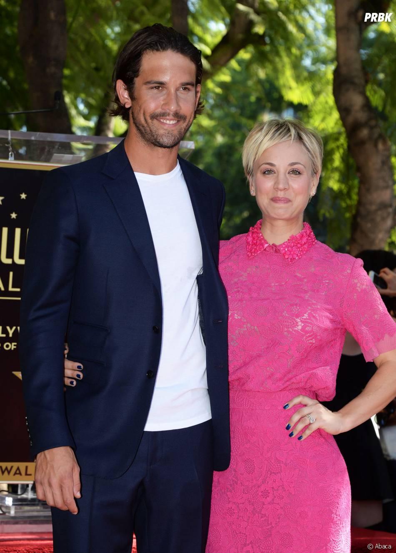 Kaley Cuoco et son mari Ryan Sweeting le 29 octobre 2014