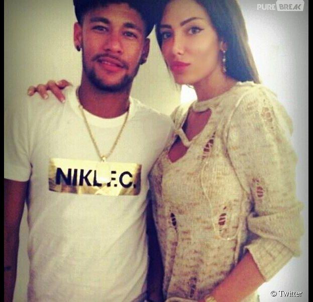Neymar en compagnie de Soraja Vucelic, sa supposée nouvelle petite amie.