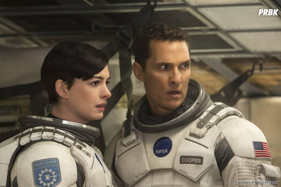 Interstellar : Anne Hathaway et Matthew McConaughey sur une photo