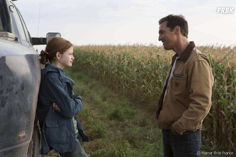 Interstellar : Mackenzie Foy et Matthew McConaughey