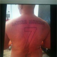 Franck Ribéry : un fan se tatoue son maillot du Bayern dans le dos