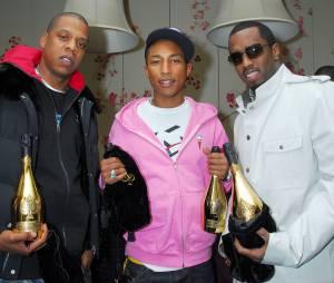 Jay Z, Pharrell Williams et P.Diddy, tous fans du champagne français Armand de Brignac