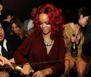 Rihanna, fan du champagne français Armand de Brignac