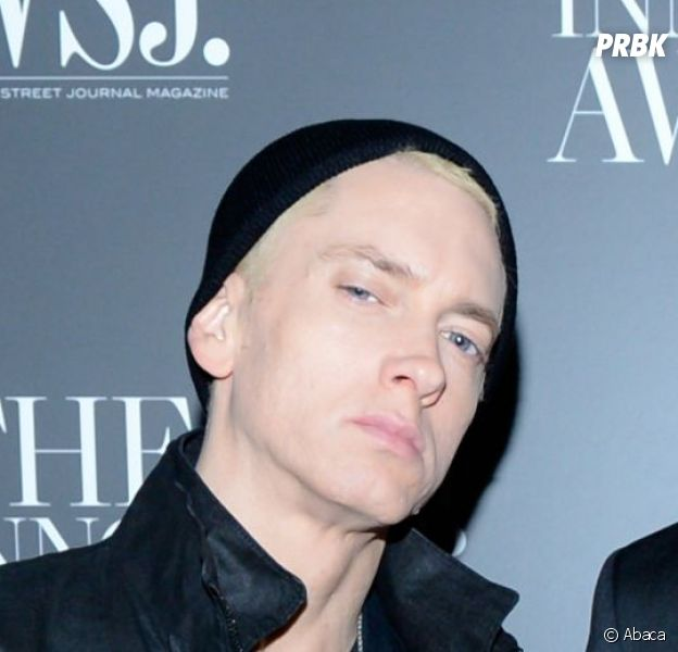 Eminem aux Wall Street Innovator Of The Year Awards 2014