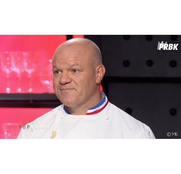 Philippe Etchebest soudoyé pendant Objectif Top Chef