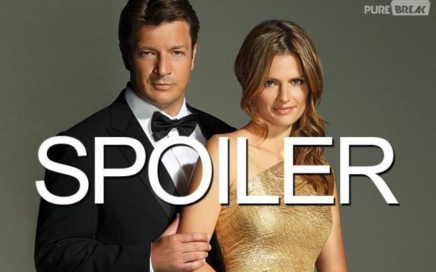 Castle saison 7 : un heureux évènement pour Rick et Kate