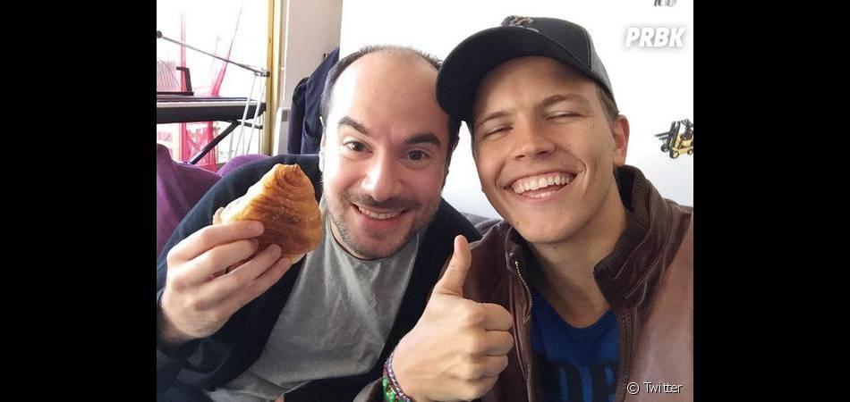 Jérôme Jarre et Kyan Khojandi en France, novembre 2014