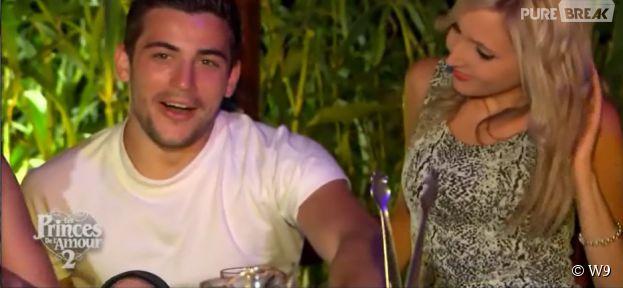 Les Princes de l'amour 2 : Amandine s'incruste à un rendez-vous d'Anthony