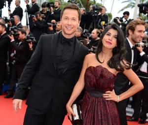 Stéphane Rousseau et Reem Kherici avant leur rupture, sur le tapis rouge du Festival de Cannes 2013