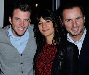 Estelle Denis et Jean-Philippe Doux à l'inauguration du restaurant de Norbert Tarayre à Puteaux, le 17 novembre 2014