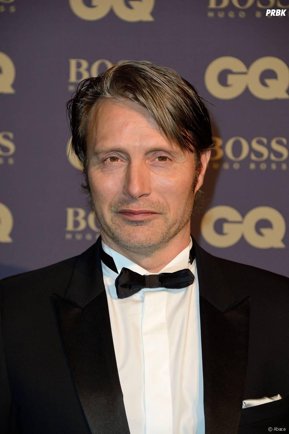 Mads Mikkelsen lors de la soirée GQ, au musée d'Orsay, le 19 novembre 2014