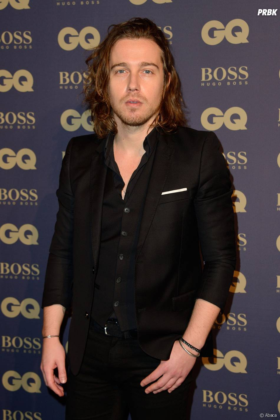 Julien Doré lors de la soirée GQ, au musée d'Orsay, le 19 novembre 2014
