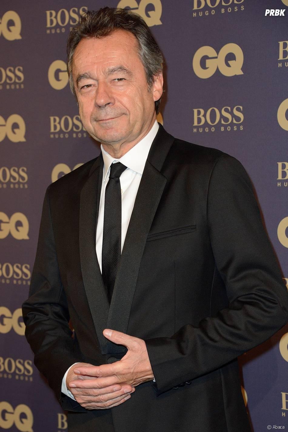Michel Denisot lors de la soirée GQ, au musée d'Orsay, le 19 novembre 2014
