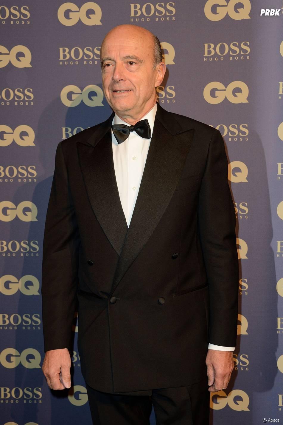 Alain Juppé lors de la soirée GQ, au musée d'Orsay, le 19 novembre 2014