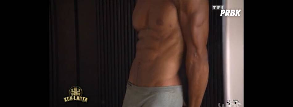 Koh Lanta 2014 : Laurent sexy et torse nu
