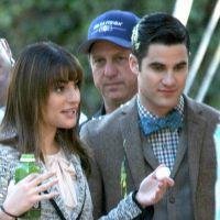Glee saison 6 : nouvelles photos de tournage avec Will, Emma... et leur bébé