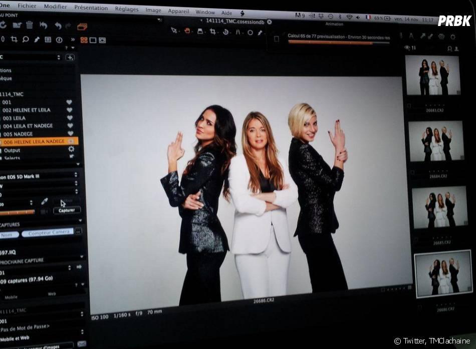 Leila Ben Khalifa et Nadège Lacroix en mode drôles de dames avec Hélène Rollès