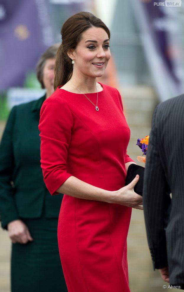Kate Middleton enceinte et nue sur un graffiti signé Pegasus à Londres, novembre 2014