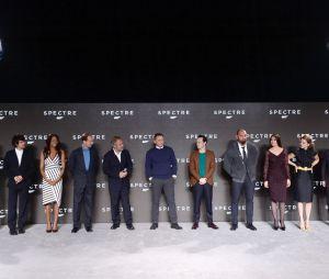 Le casting à l'annonce de James Bond 24 le 4 décembre 2014