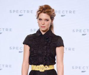 Léa Seydoux à l'annonce de James Bond 24 le 4 décembre 2014