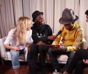 Enora Malagré et Pharrell Williams : l'interview ratée pour Virgin fait toujours parler en décembre 2014
