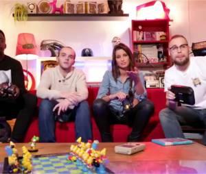 Malika Ménard invitée de la première émission Bien Ouej ! de Sébastien-Abdelhamid pour tester le jeu Super Smash Bros for Wii U