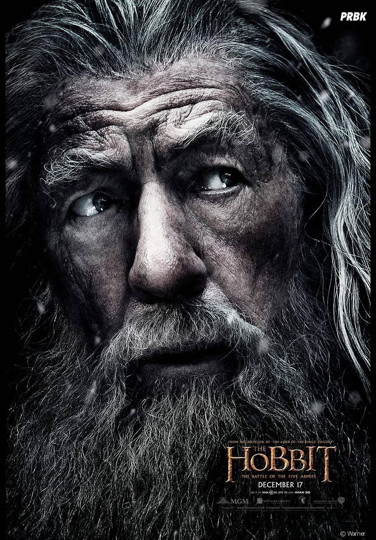 Le Hobbit, la Bataille des Cinq Armées : Gandalf discret