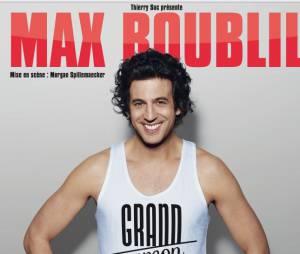"""Max Boublil au Bataclan jusqu'au 31 décembre 2014 pour son nouveau spectacle """"Grand Garçon"""""""