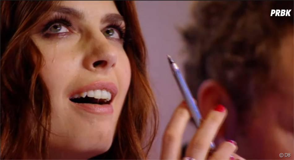 Nouvelle Star 2015 : Elodie Frégé en larmes
