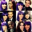 Ornella Del Rey, reine des selfies avec les stars aux NMA 2014