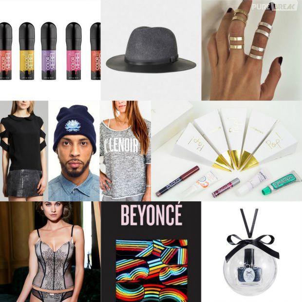 Cadeau De Noel à La Mode.Chapeau Stickers Beyoncé Bague Lingerie 8 Idées De