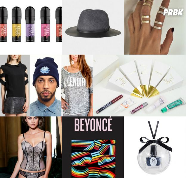 Ciaté, Beyoncé x NCLA, ÔORA, As I Am, Galvanized, Mr Lenoir, Birchbox, Charlott'Lingerie, The Kooples et Redken : notre sélection des cadeaux mode et beauté pour Noël 2014
