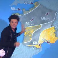 Kev Adams présentateur météo délirant sur iTélé