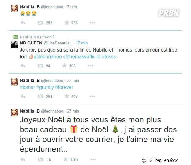 Nabilla Benattia : tweets énigmatiques pour Thomas Vergara ?