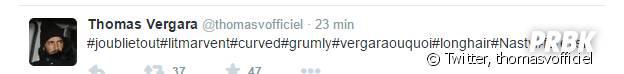 Thomas Vergara : un tweet énigmatique sur Twitter